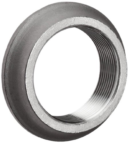 """Stainless Steel 304 Cast Pipe Fitting, Flange, Welding Spud, Class 150, 1"""" NPT Female"""