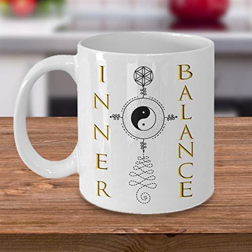 Inner Balance - Taza Unalome | Regalo para ella | Regalo para él | Decoración de cocina