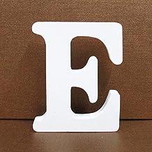 ZHHOOHAG Huis Borden 1 st 8 cm Aantal 0 Tot 9 Wit Houten Nummer Letters Vrijstaand Hout Decoratieve Ambachten Voor Thuis P...