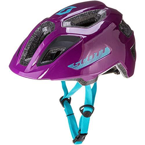 SCOTT 275232 Fahrradhelm für Kinder, Deep Purple, 1 Größe