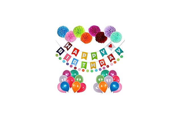 Happy Birthday Decorations Party Supplies