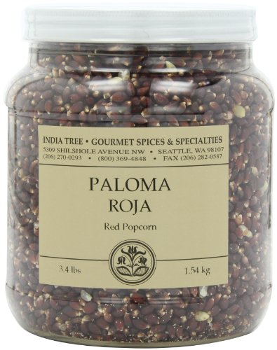 Best Price India Tree Paloma Roja (Red) PopCorn, 3.4 lb (Pack of 2)