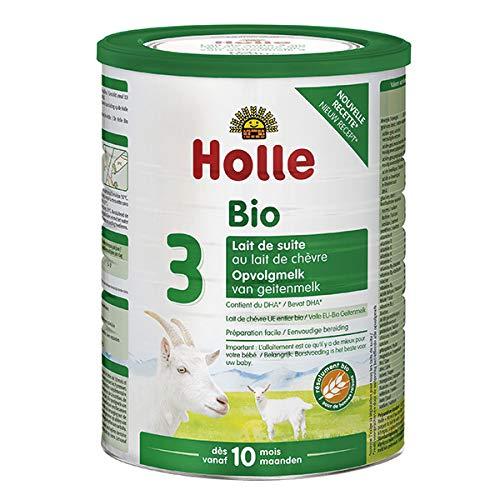HOLLE - Lait De Suite 3 Au Lait De Chèvre Bio 800G - L'unité