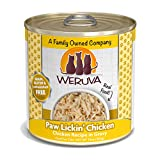 Weruva Classic Cat Food, Paw Lickin? Chicken With Chicken Breast In Gravy, 10Oz Can (Pack Of 12), Yellow (878408002410)