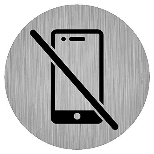 immi Verbots-Zeichen, Handy im Krankenhaus, in Klinik verboten, ohne Handy,95mmØ