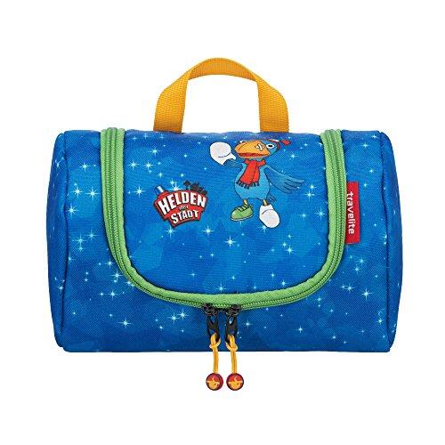 Travelite Robuste, fröhliche Kinderkoffer und Gepäckstücke Helden der Stadt machen jede Reise zum Abenteuer Kindergepäck, 2.5 Liter, Marine