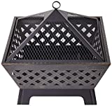 "Landmann 25282 Barrone Fire Pit, 26"", Antique Bronze"