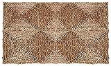 AUBRY GASPARD - Alfombra rectangular de junco