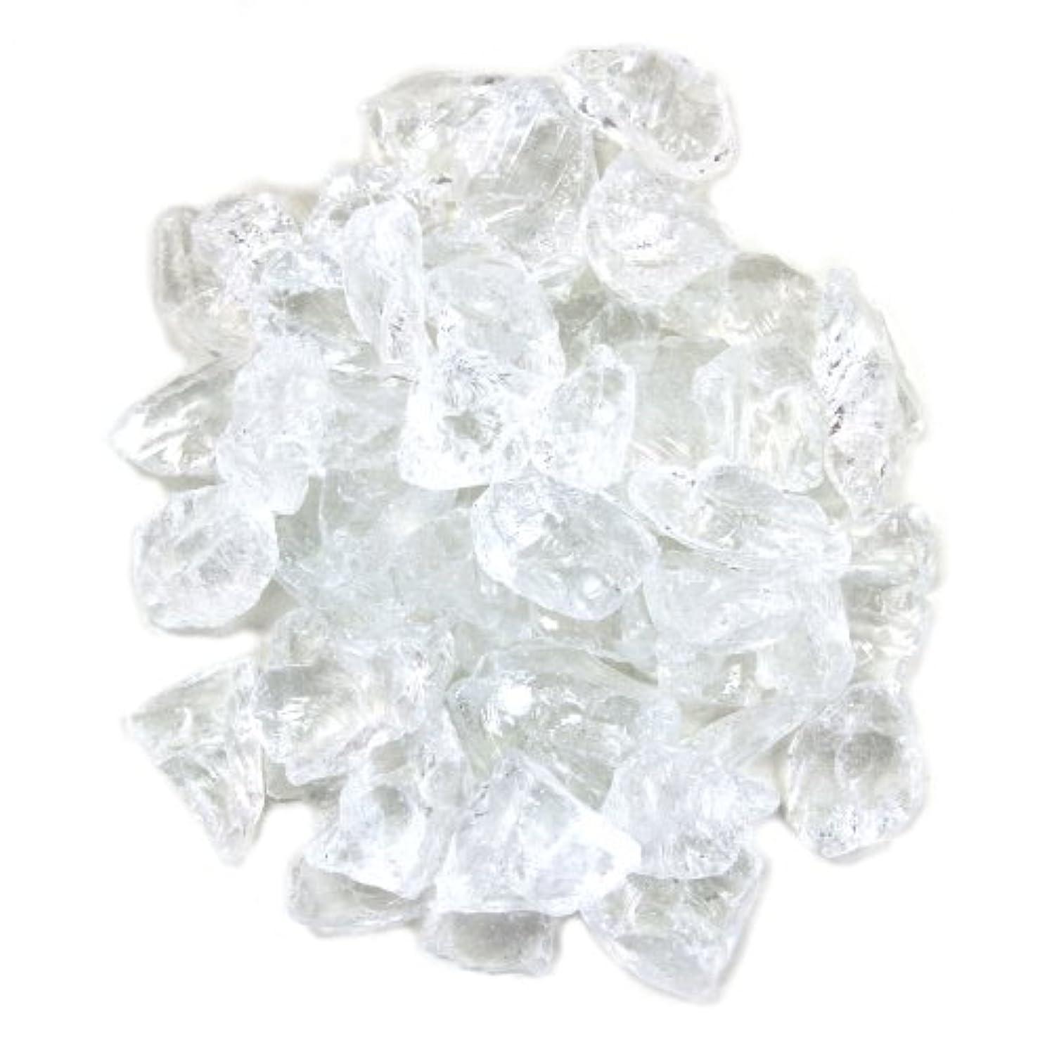 Koyal Wholesale Centerpiece Vase Filler Decorative Crushed Glass, 4.5-Pound, Clear