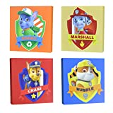 Nickelodeon Paw Patrol Square Canvas Wall Art 11' Toy (Pack of 4)