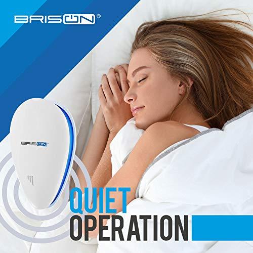 BRISON Ultrasonic Pest Repeller - Eco-Friendly