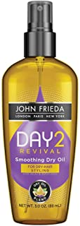John Frieda Day 2 Revival Smoothing Dry Oil, 3 Fluid Ounce