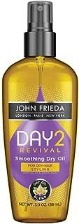 John Frieda Day 2 Revival Smoothing Dry Oil, 3 Fluid Ounce
