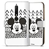 Étui Compatible avec Nokia 6.1 Étui Folio Étui magnétique Disney Mickey Produit sous Licence...