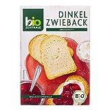 biozentrale Dinkel-Zwieback, 3er Pack (3 x 200 g) -