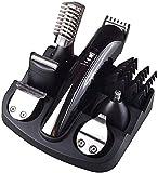 XGBDTJ- Multifuncional Máquina De Afeitar Recargable Trimmer Vida de Moda Barba Cara Cuerpo Oídos Nariz Cejas Afeitar Set (Color : Colour, Size : Size)