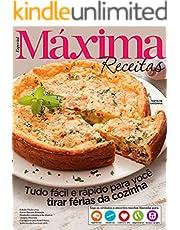 Revista Máxima Receitas - Tudo fácil e rápido para você tirar férias da cozinha