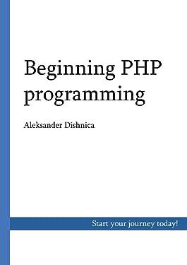Beginning PHP programming