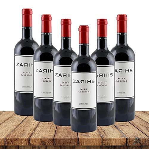 Borsao Zarihs - Syrah 2017| Rotweinpaket (6 x 0,75 Liter) | Rotweine aus Spanien