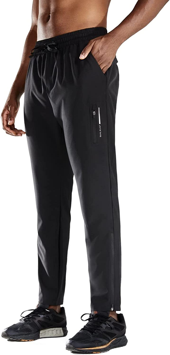 BALEAF Men's Today's only Running Pants Lightweight Quick At the price of surprise Waist W Dry Elastic