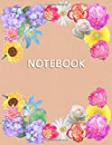 Notebook for Woman: Lined – College Ruled - Blank - Table of Content - Diary, Journal, Composition...