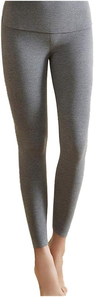 Dizadec Thermal Underwear Pants for Women, Women's Fleece Lined Thermal Bottoms Long Underwear Baselayer Pants Legging