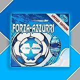 Pallone da Calcio con Uova di Pasqua da 150gr. Forza Azzurri...