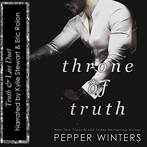 Throne of Truth     Truth and Lies Duet, Book 2              By:                                                                                                                                 Pepper Winters                               Narrated by:                                                                                                                                 Kylie C Stewart,                                                                                        Eric Rolon                      Length: 9 hrs and 52 mins     21 ratings     Overall 4.5