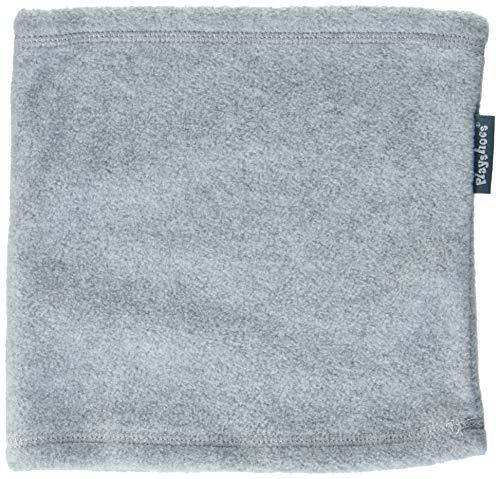 Playshoes Unisex Fleece-Schlauchschal softer Rundschal geeignet für kalte Tage, grau/Melange, Einheitsgröße
