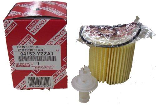 Genuine Scion - tC Oil Filter 1 Case (QTY 10) - 04152-YZZA1 by Toyota