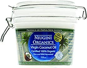 Niugini Organics 100 Percent Organic Virgin Coconut Oil 320 ml,  320 ml