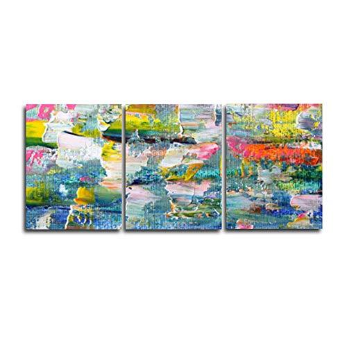 AOLIGEI Moderne abstracte kunst abstract 3 panelen graffitiposters en afdrukken canvas schilderij muurkunst voor de woonkamer badkamer huwelijk decoratie 30 * 40