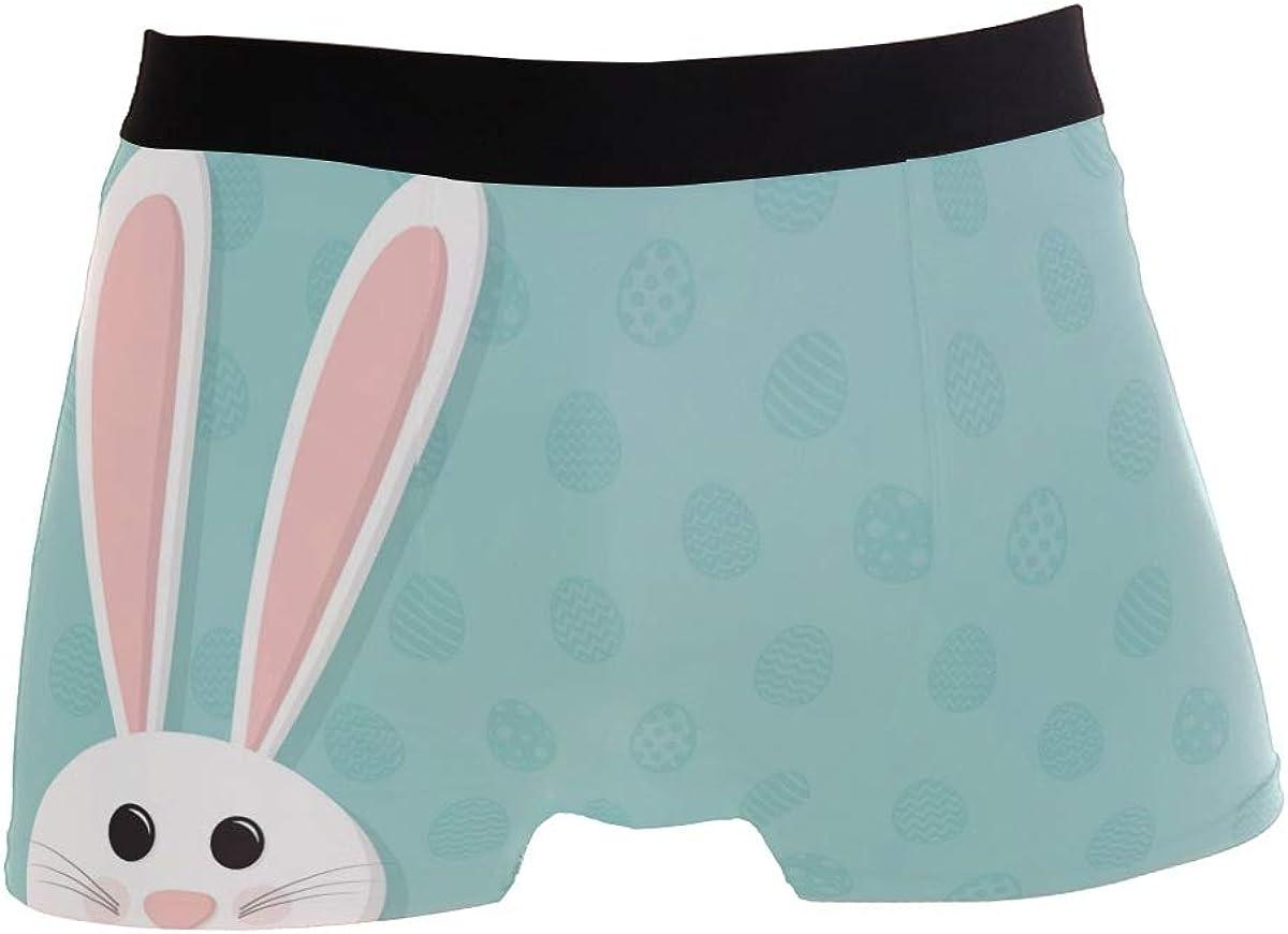 Happy Easter Men Boxer Briefs, Egg UnderwearComfort Soft Boxer Briefs