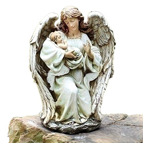 Tabletop Vintage Angel Holding Baby Figure