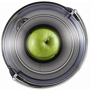 """Breville BJE200XL Juice Fountain Compact Centrifugal Juicer, Silver, 10"""" x 10.5"""" x 16"""""""