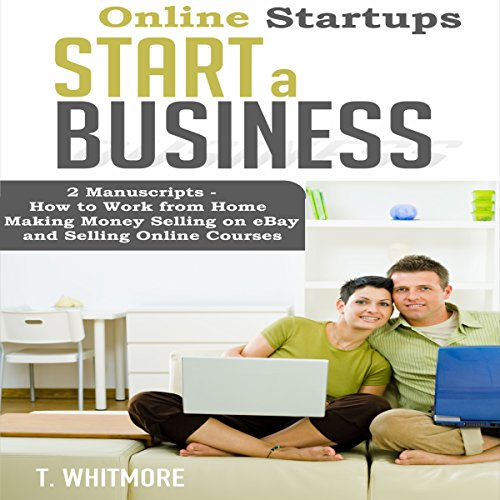 Online Startups audiobook cover art