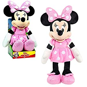 Mickey Mouse Disney Junior Large 19-Inch Plush Minnie Mouse - 51LV0ljYz2L - Mickey Mouse Disney Junior Large 19-Inch Plush Minnie Mouse