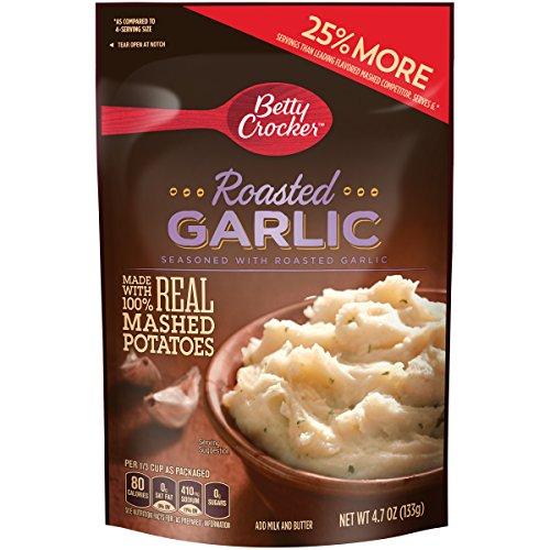 Betty Crocker Savory Roasted Garlic Mashed Potatoes, 4.7 Oz.