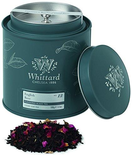 Whittard of Chelsea English Rose Loose Leaf Tea Caddy, 1er Pack (1 x 100 g)