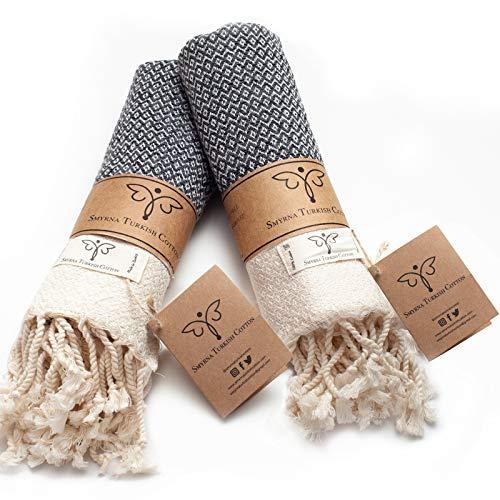 Toallas Para Manos marca Smyrna Turkish Cotton