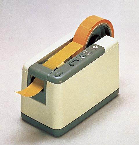 ニチバン電動テープカッターオートテーパー1.1kgTCE-100アイボリー