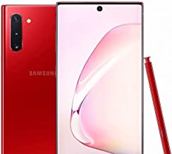 $527 » Samsung Galaxy Note 10 N970U 256GB Factory Unlocked Smartphone - Aura Red - (Renewed)