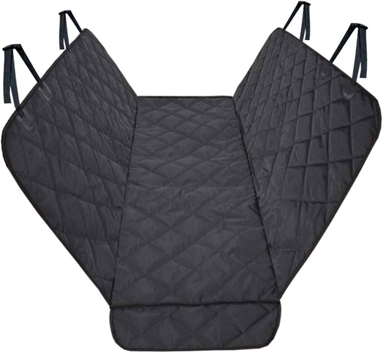 Dog Hammock, Dog Car Seat Cover, Pet Back Seat Cover Waterproof Case, NonSlip Universal Size (137  147 cm), Black