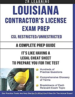 Louisiana Contractor's License Exam Prep