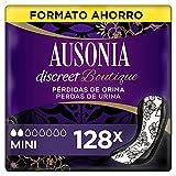 Ausonia Discreet Boutique Compresas Para Pérdidas De Orina Mini Para Vejigas Hiperactivas x 128