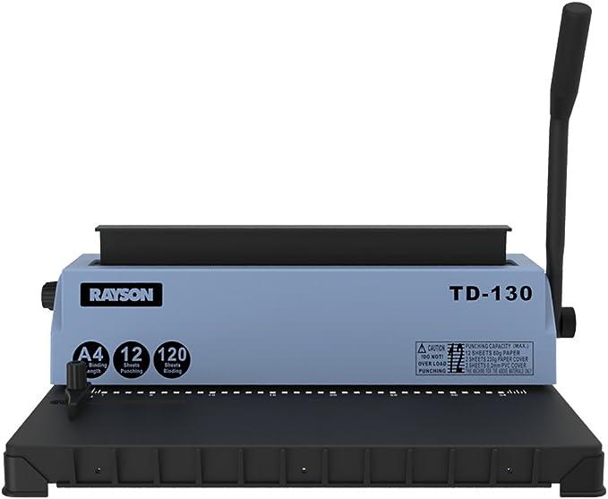 29 opinioni per Rayson TD-130, macchina per rilegatura 3:1, punzonatrice per rilegatura a filo,