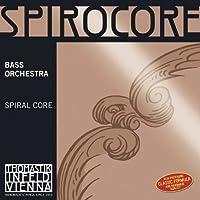 Thomastik-Infeld S36W Spirocore Double Bass String Single G String Weich (Light) 4/4 Size Steel Core Chrome Wound [並行輸入品]