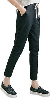 [ニーク] 軽やか イージー テーパード パンツ ウエストゴム レディース ボトムス 大きい サイズ