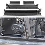 JeCar Door Sill Guards Door Entry Protectors Exterior Accessories for 2018-2021 Jeep Wrangler JL 4-Door