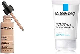 Dermablend Flawless Creator Multi-Use Liquid Foundation, 37N + La Roche-Posay Toleriane Double Repair Face Moisturizer